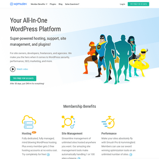 WPMU DEV - Your All-in-One WordPress Platform