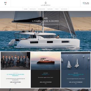 Lagoon Catamaran - vente, location, construction de catamaran et de bateau de luxe