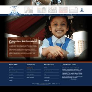 A school with a Difference - Al Noor International School