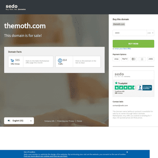 themoth.com is available for purchase - Sedo.com