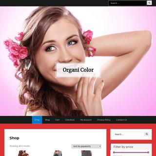 Shop - Organi Color