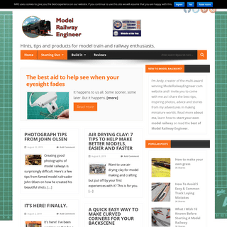 Model Railway Engineer.com - Hints, tips and inspiration for model railway enthusiasts. From Hornby to Mamod and beyond.