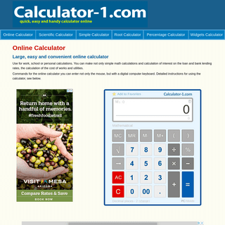 The Best Free Online Calculator