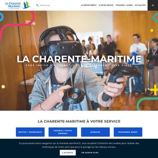 ArchiveBay.com - charente-maritime.fr - la.charente-maritime.fr - site officiel du Département 17