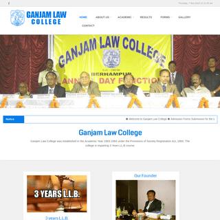 Home - Ganjam Law College
