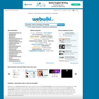 Webwiki - Diretório de Sites do Brasil e Portugal