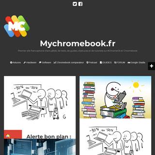 Mychromebook.fr - Premier site francophone d'actualités, de tests, de guides, d'astuces et de tutoriels sur #ChromeOS et Chrome