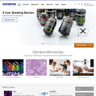 Olympus - Life Science Solutions