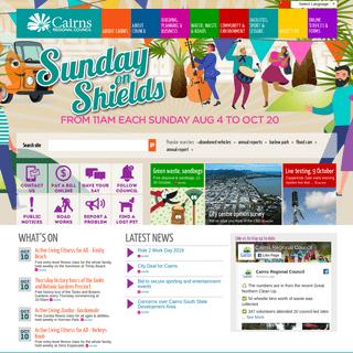 Cairns Regional Council Homepage - Cairns Regional Council