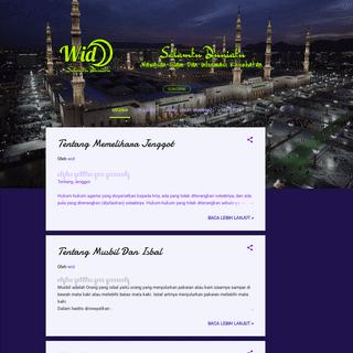 Salamku Duniaku - Wawasan Islam dan Informasi Kesehatan