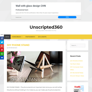 Unscripted360 - Sharing Useful Information For You
