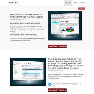 AvniTech, Productivity Software for Windows