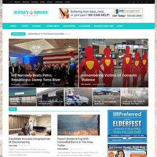 Jersey Shore Online - News & Advertising - Ocean County, NJ