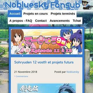 ArchiveBay.com - nobluesub.com - Nobluesky Fansub