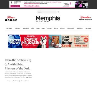 ArchiveBay.com - memphismagazine.com - Memphis magazine - Memphis magazine