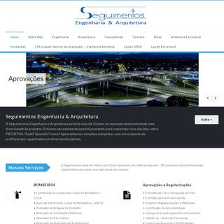 Home - Seguimentos Engenharia e Arquitetura