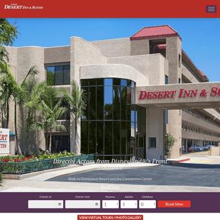 ArchiveBay.com - anaheimdesertinn.com - Anaheim Desert Inn and Suites - Anaheim, CA Hotels near Disneyland