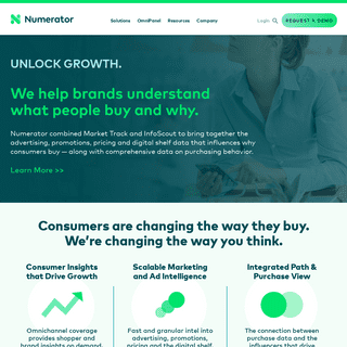 Omnichannel Market Intelligence & Consumer Insights - Numerator