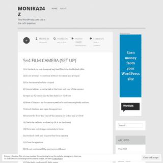 monika24z - This WordPress.com site is the cat's pajamas