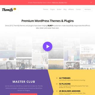 Drag & Drop WordPress Themes • Themify