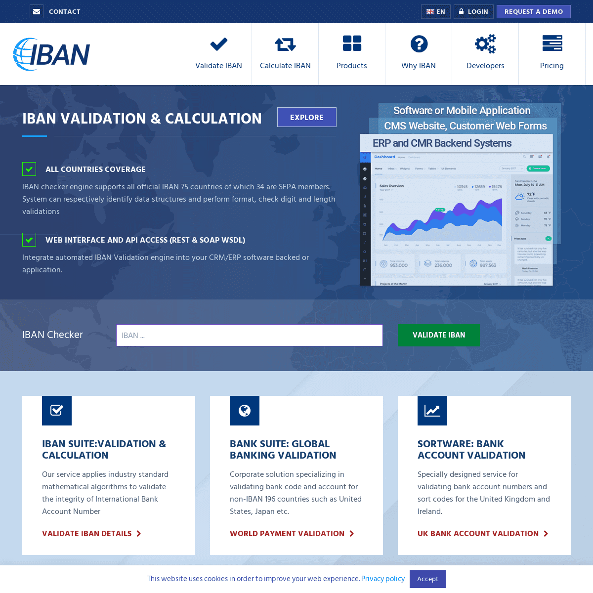 IBAN Checker- International Bank Account Number validation