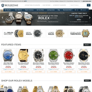 ArchiveBay.com - beckertime.com - Rolex Luxury Watches - Certified Pre-Owned Watch Dealer - BeckerTime