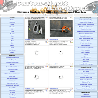 ArchiveBay.com - gartenmarktbau.de - Garten & Bau-Markt Für Jeden