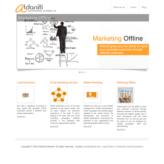 Aldaniti Network - Marketing Solutions