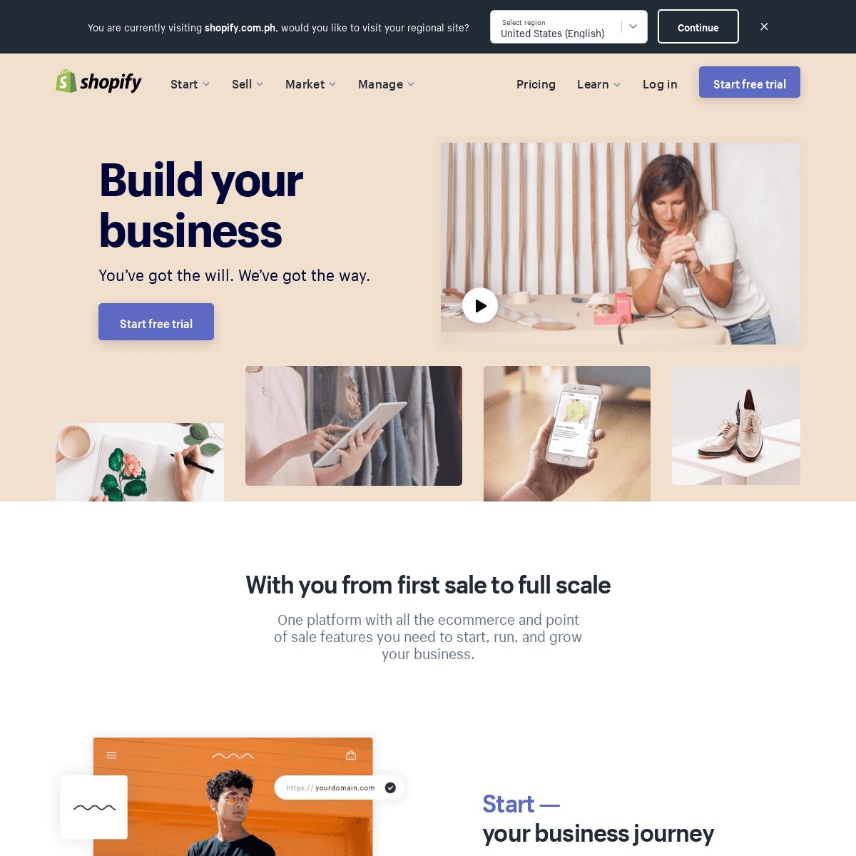 ArchiveBay.com - shopify.com.ph - Ecommerce Software - Best Ecommerce Platform Made for You - Free Trial