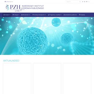 PZH – Narodowy Instytut Zdrowia Publicznego – Państwowy Zakład Higieny