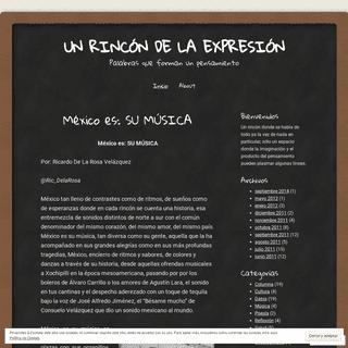 ArchiveBay.com - delarosaric.wordpress.com - Un rincón de la expresión - Palabras que forman un pensamiento