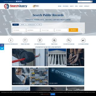 SearchQuarry - Background Checks, License Plate Searches, & More