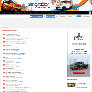 Smart Car Forum