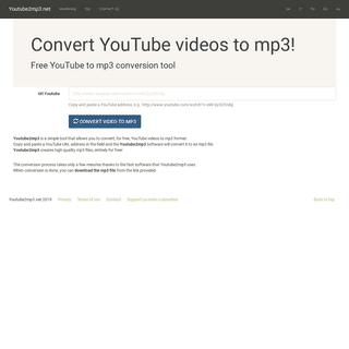 ArchiveBay.com - youtube2mp3.net - Youtube2mp3 -- convert YouTube videos to mp3