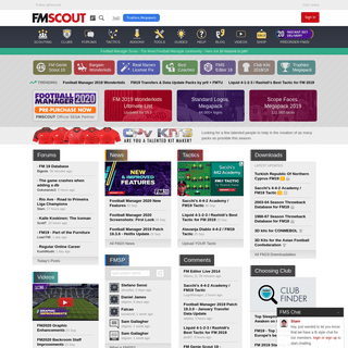 FM Scout - Football Manager Finest Community