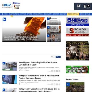 KRGV CHANNEL 5 NEWS - The Rio Grande Valley's News Channel