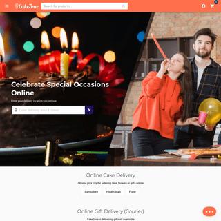 ArchiveBay.com - cakezone.com - Cakes, Desserts, Flowers, Combos, Gifts & Chocolates - CakeZone