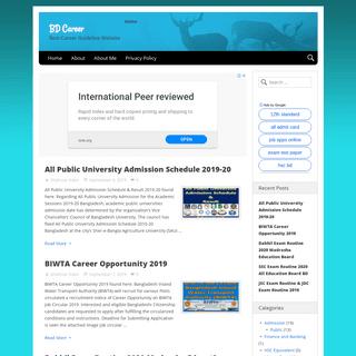 BD Career - Best Career Guideline Website