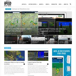 Home - iPad Pilot News