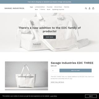 Savage Industries EDC Bag