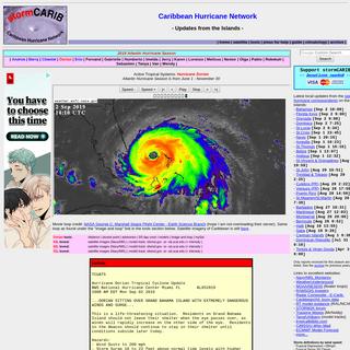 ArchiveBay.com - stormcarib.com - Caribbean Hurricane Network - stormCARIB.com - Local Reports on Tropical Systems threatening the Caribbean Islands