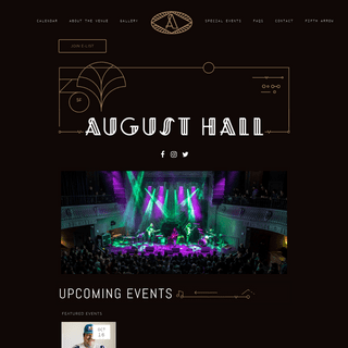 Home - August Hall