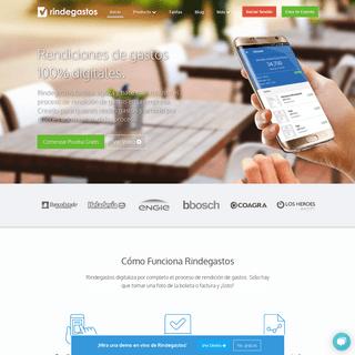 RindeGastos - La solución para tus rendiciones de gastos