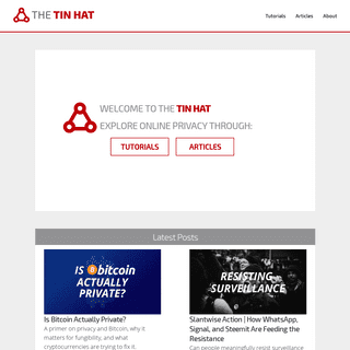 ArchiveBay.com - thetinhat.com - The Tin Hat