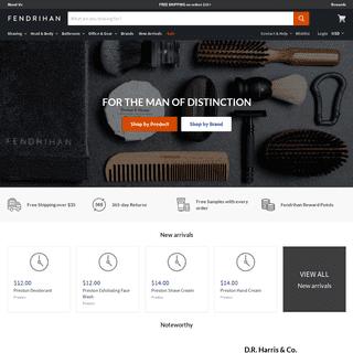 Fendrihan - Shaving, Grooming and Men's Gifts