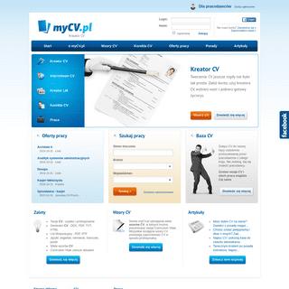 Kreator CV +20 wzorów CV, pobierz w PDF - myCV.pl