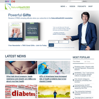 NaturalHealth365 - Powerful Solutions