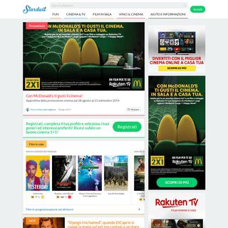 Homepage - Stardust