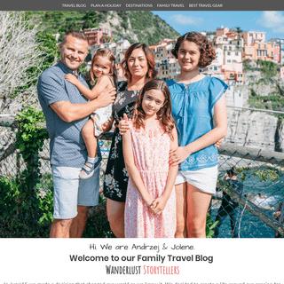 Family Travel Blog & Travel with Kids Tips - Wanderlust Storytellers