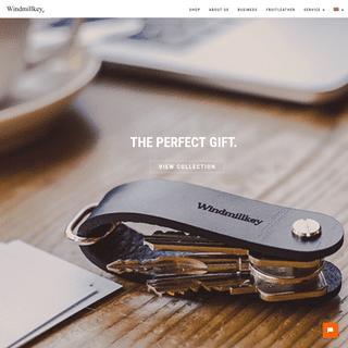 Windmillkey - Key Organizer - Stijlvol, Praktisch & Handig - Perfect Cadeau